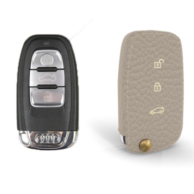 Audi 専用 TypeB Car Key Case Shrink Leather Case
