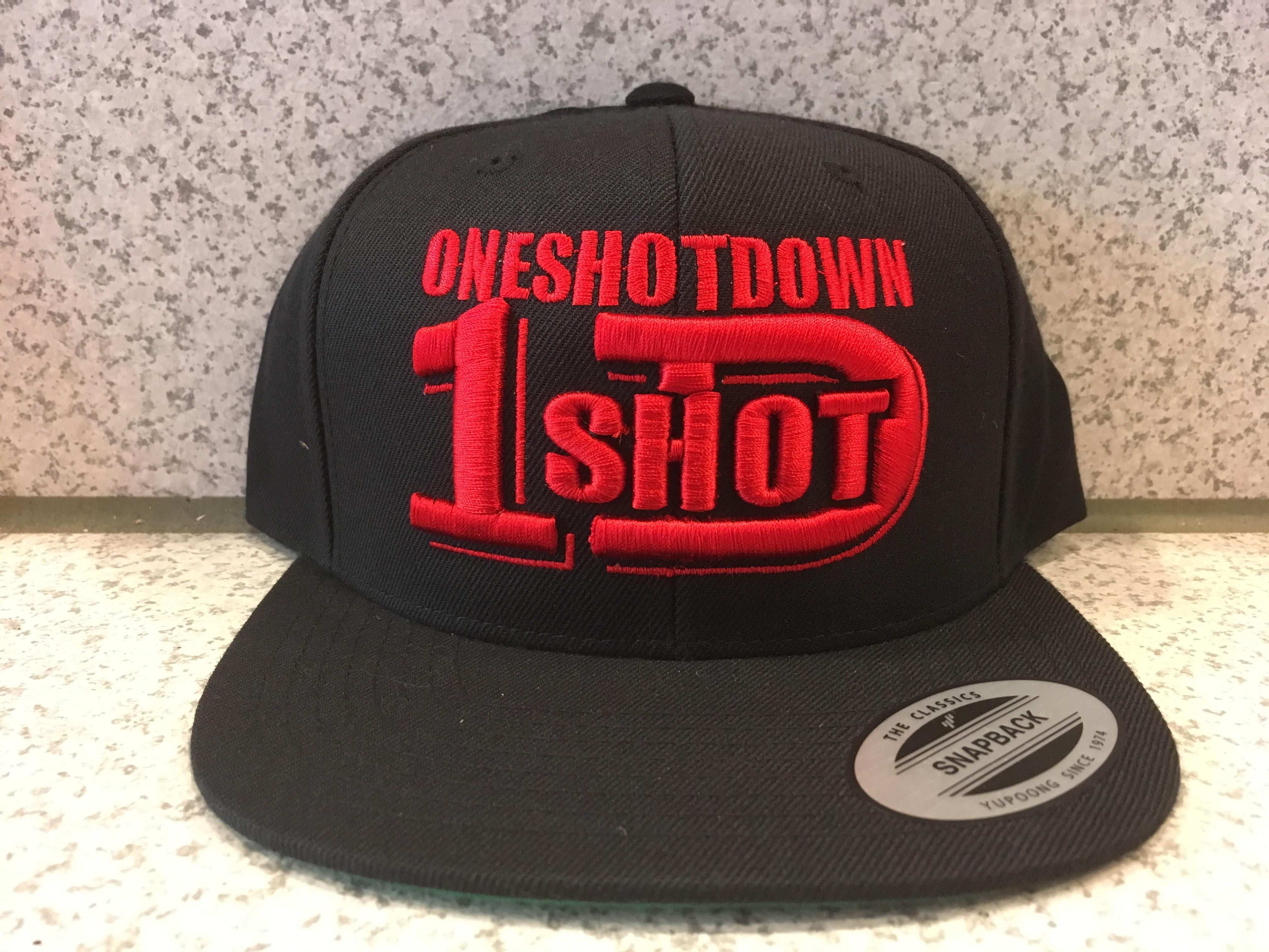 ONESHOTDOWNロゴ3D刺繍CAP - 画像4
