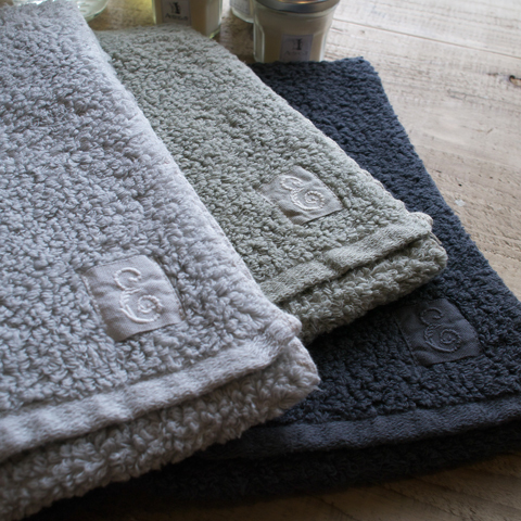 evam eva エヴァムエヴァ organic cotton face towel M