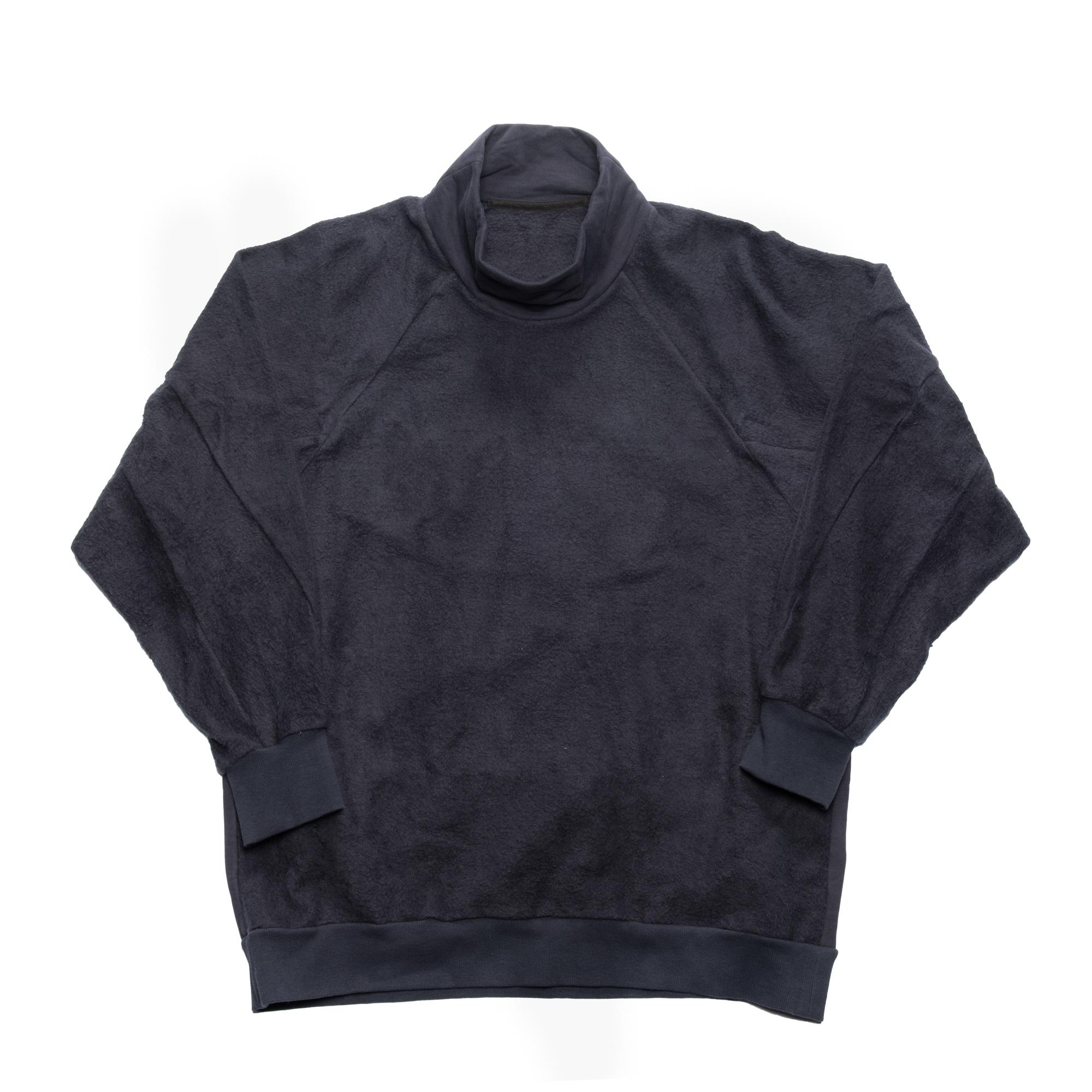 637CUM4-BLUE GRAY / インサイドアウト シームドスウェットシャツ