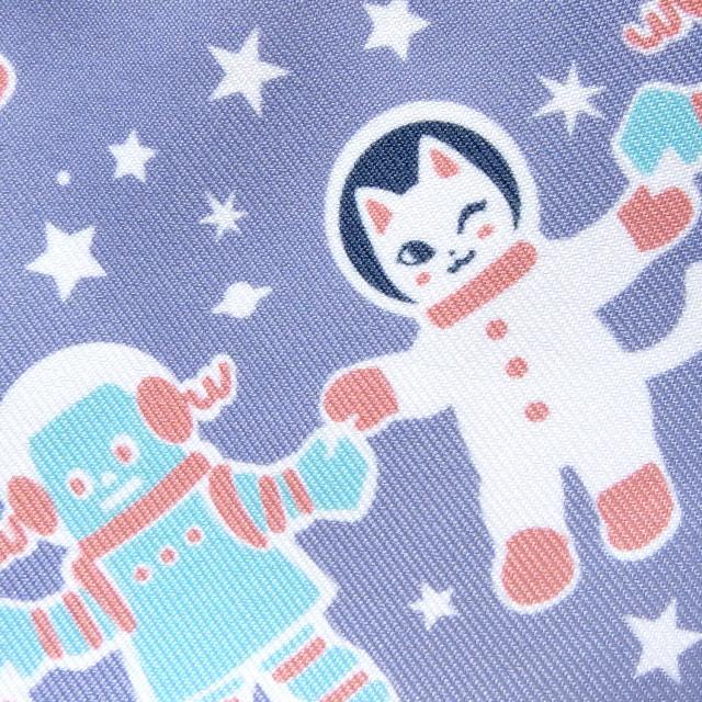 全面プリントトートバッグ - 宇宙フォークダンス