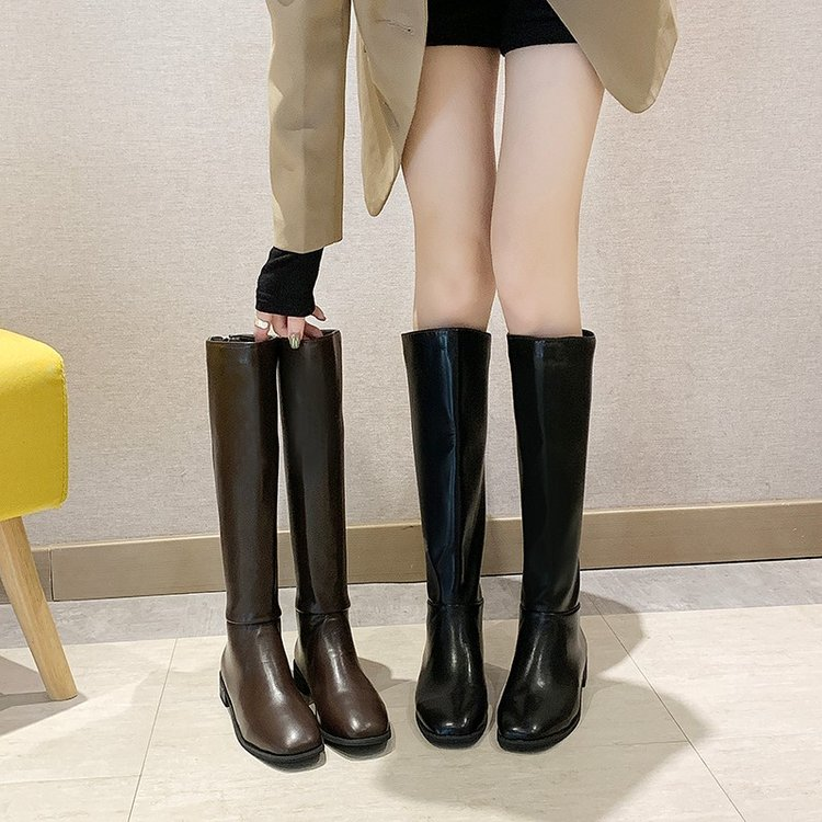 【shoes】高級感切り替え超人気合わせやすいブーツ24830976