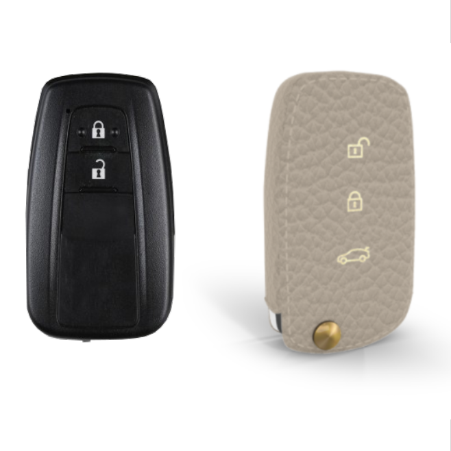 Toyota 専用 TypeA-1 Car Key Case Shrink Leather Case