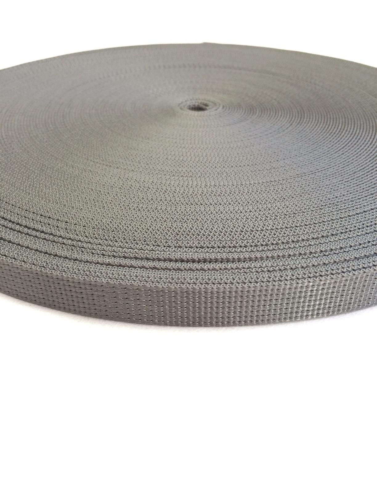 ナイロン  12本トジ織  20mm幅  1.5mm厚 カラー(黒以外) 1反(50m)