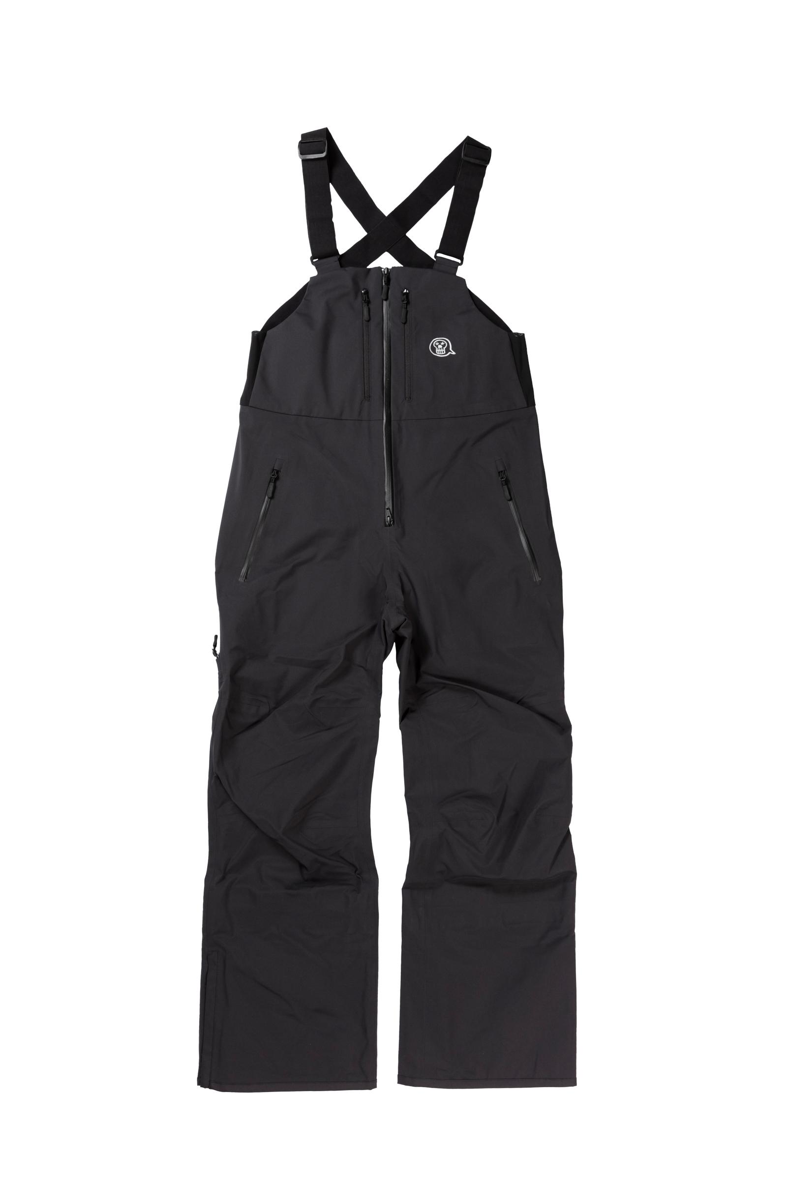 2021unfudge snow wear // PEEP BIB PANTS // BLACK / 10月中旬発送
