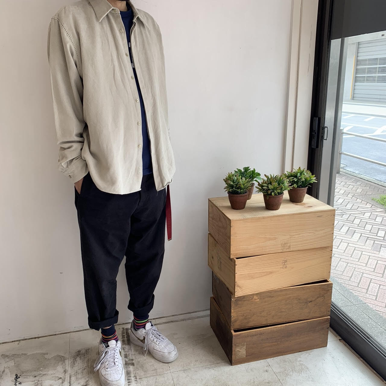 LFY VINTAGE Remeke shirt
