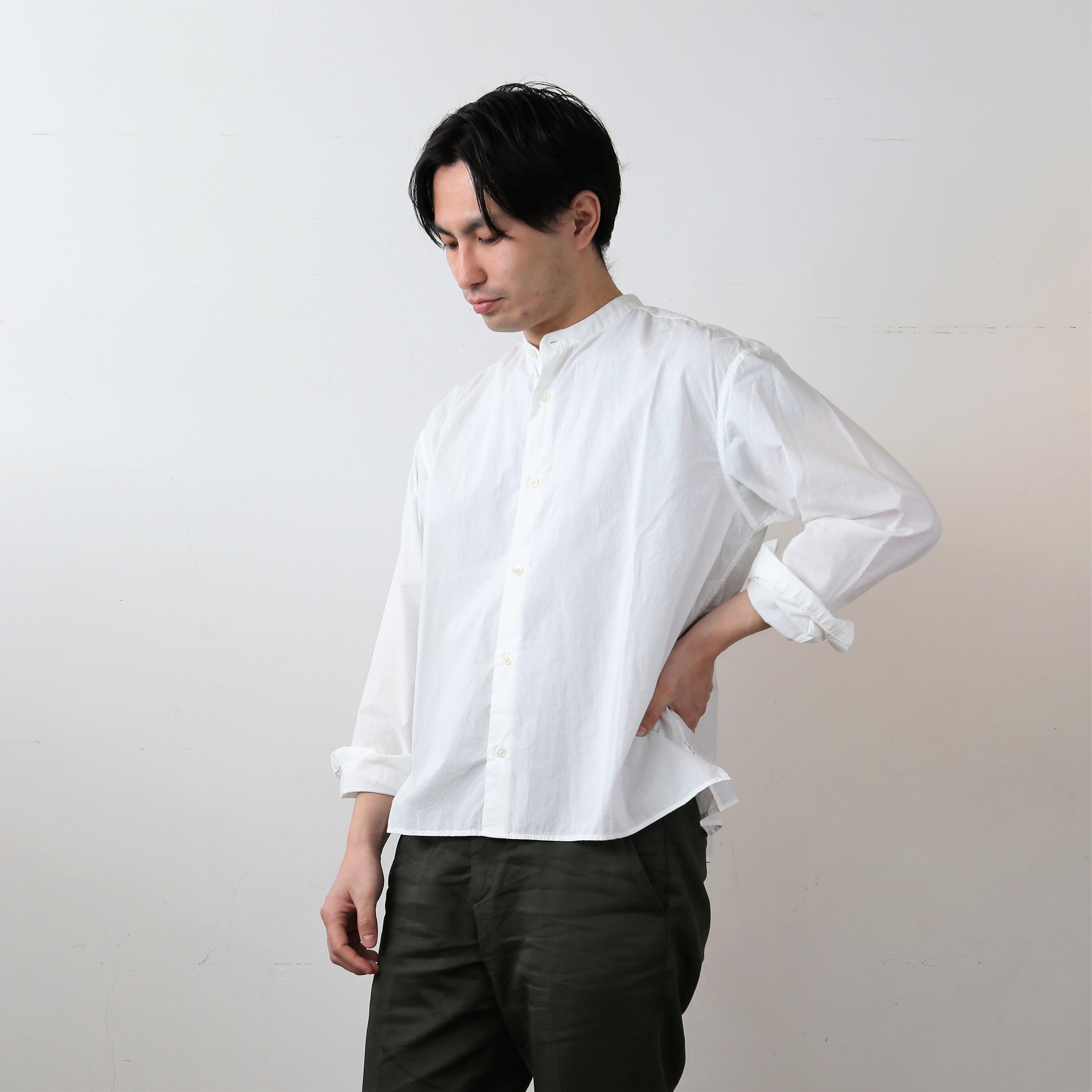 【 Men's 】【染め直し対応】ひなたシャツスタンド / WHITE