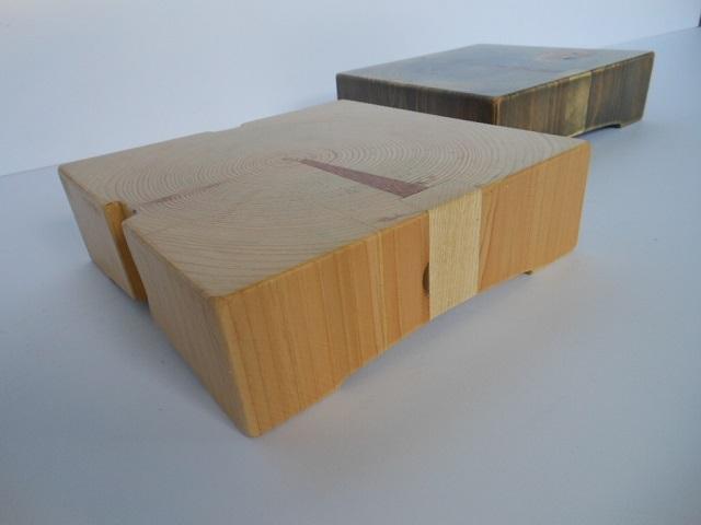 古材 木製サルヴァ - 画像2