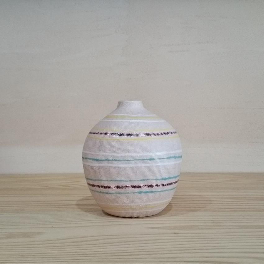 陶器  ラウンド カラーライン
