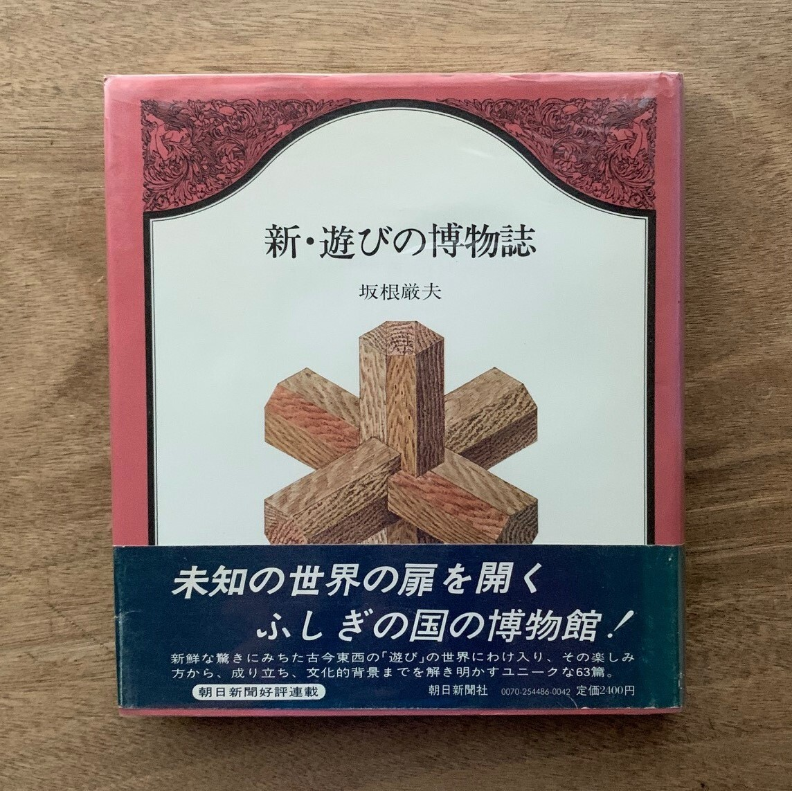 新・遊びの博物誌 / 坂根厳夫(著) / 安野光雅(装丁)