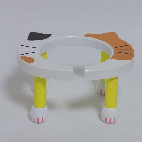 ポンポリース 食器台 (ネコポン・ミケ)