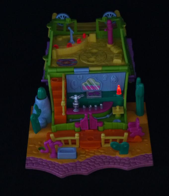 ポーリーポケット ライトアップ・ホースハウス 1994年 完品