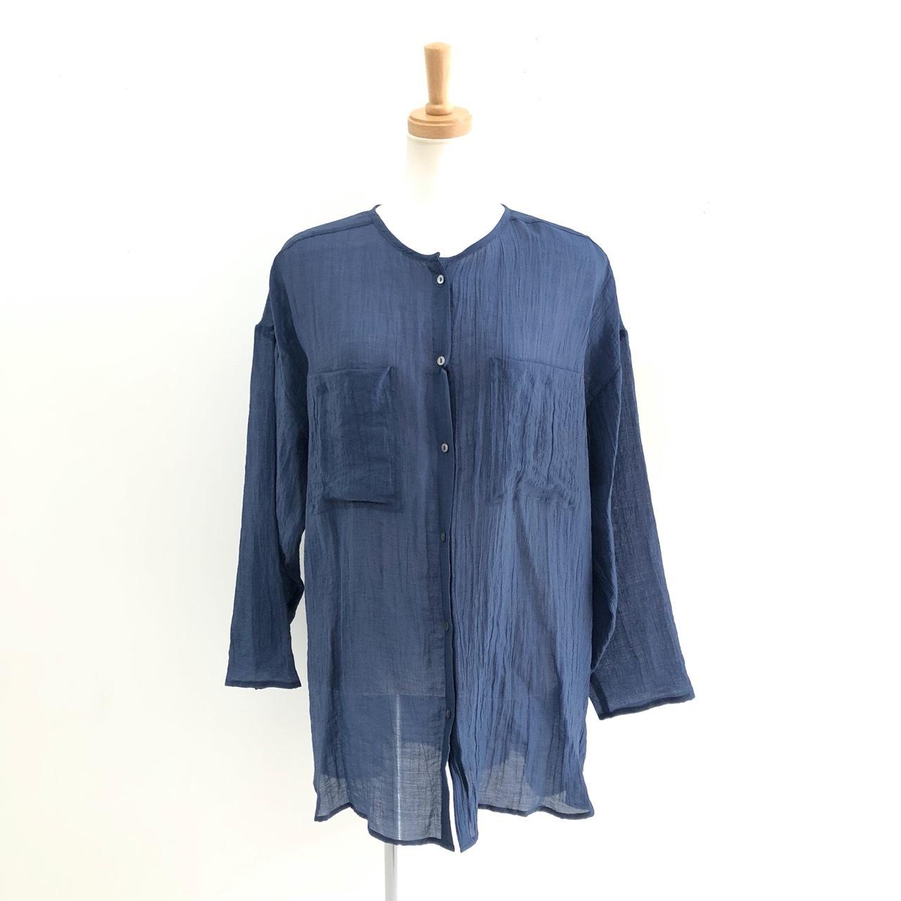 【 Chignonstar 】- 1601-067 - ワッシャーシアーシャツ