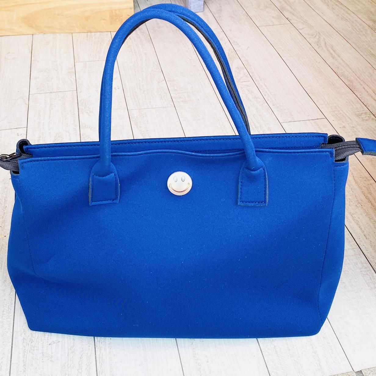 Emie's Bag ネイビー(ウエットスーツ素材)