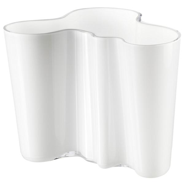 Alvar Aalto フラワーベース160mm ホワイト