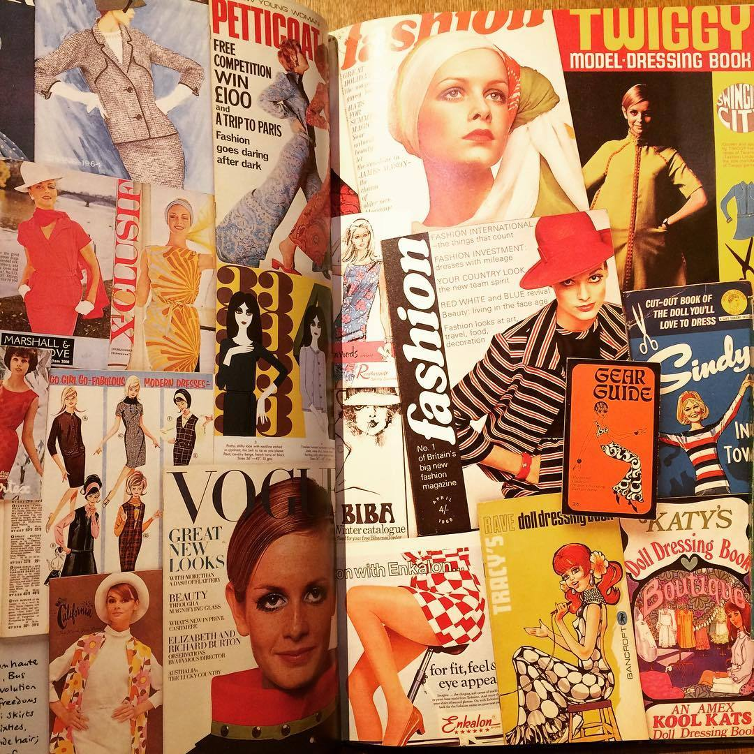 60年代デザイン ビジュアルブック「The 1960s Scrapbook/Robert Opie」 - 画像2