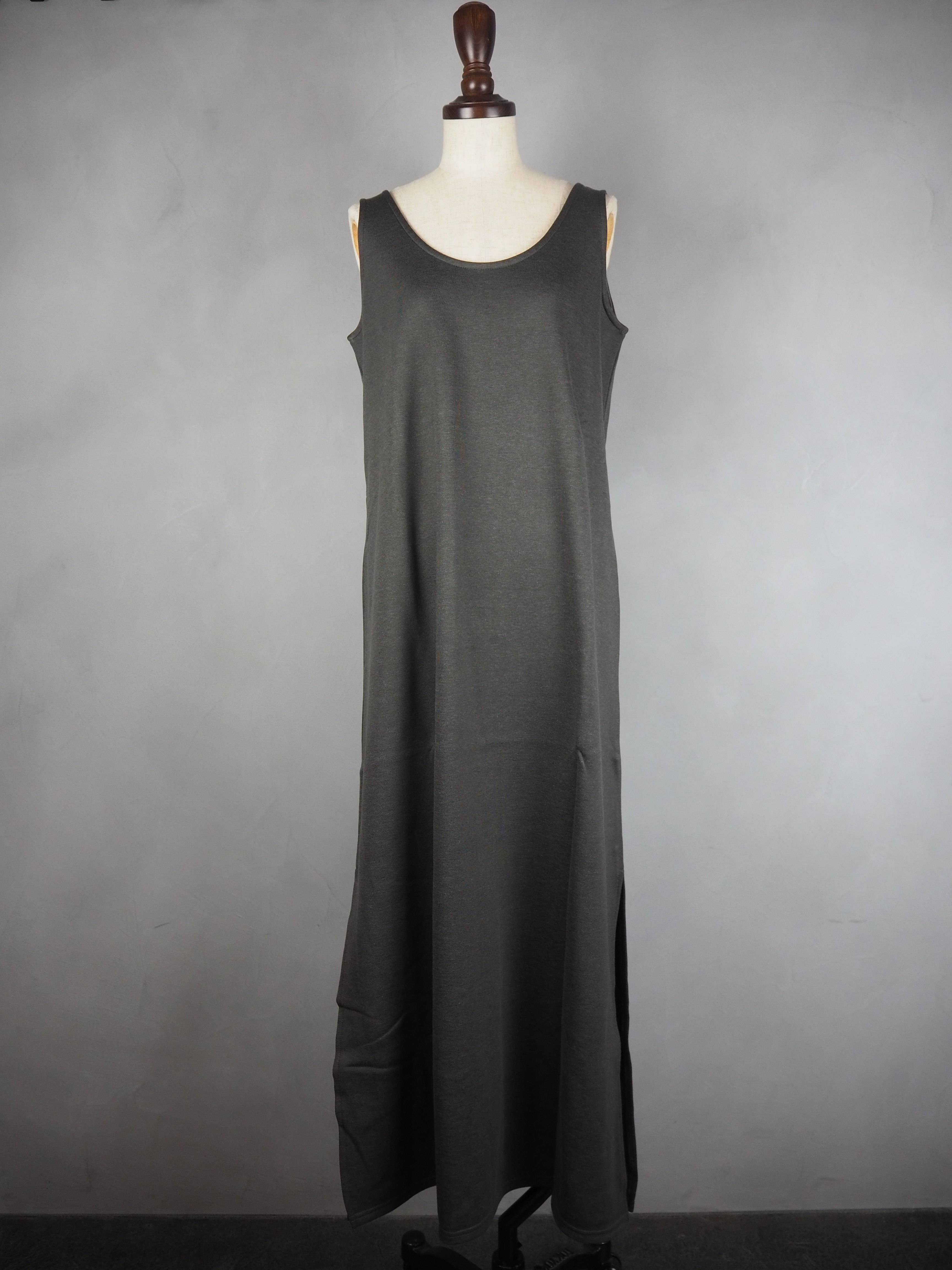 【ENLIGHTENMENT】COTTON RAYON MAXI ONEPIECE
