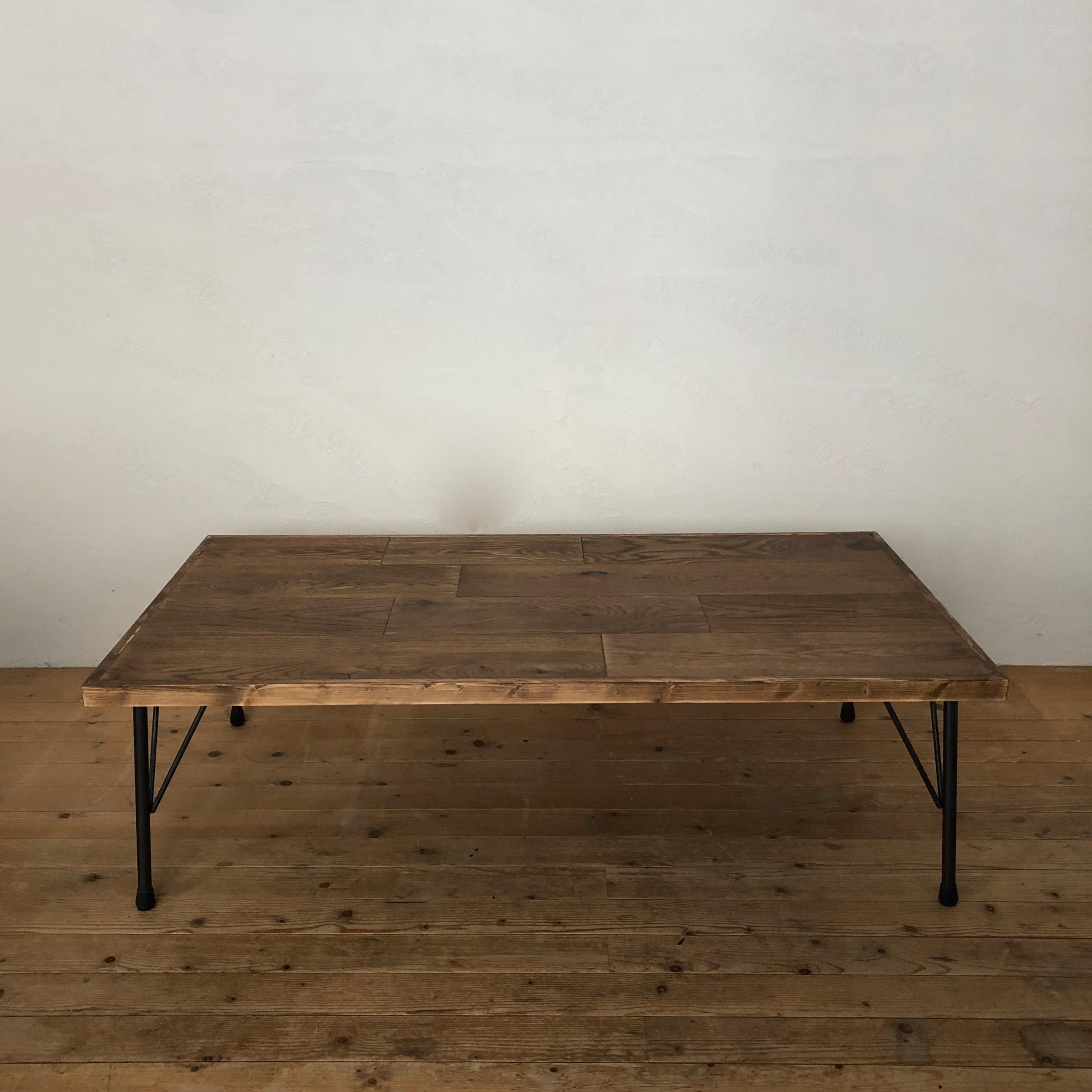 Orignal LOW TABLE  /  OAK / iron leg