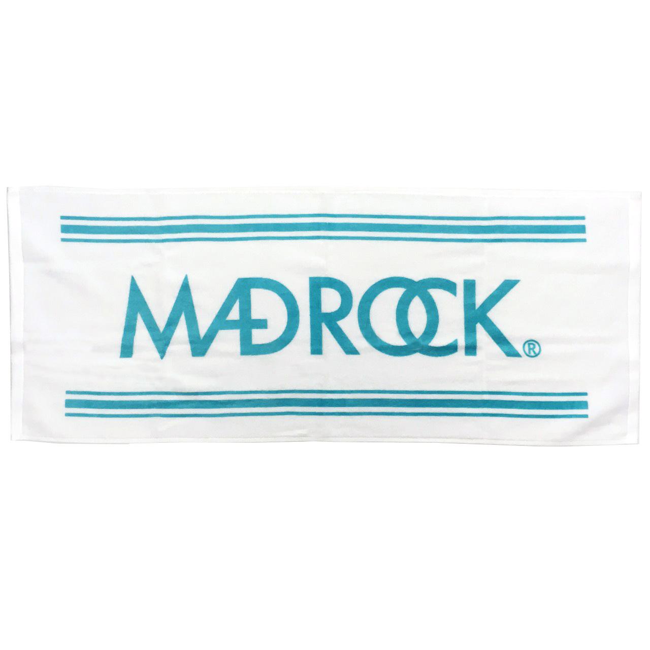 マッドロック ロゴ タオル ホワイト&ミント / MADROCK  LOGO Towel / White&Mint