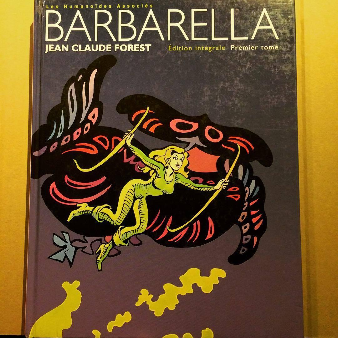 バーバレラ バンド・デシネ「Barbarella/Jean-Claude Forest」 - 画像1