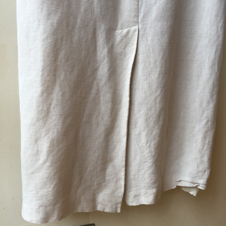 vintage linen rayon onepiece