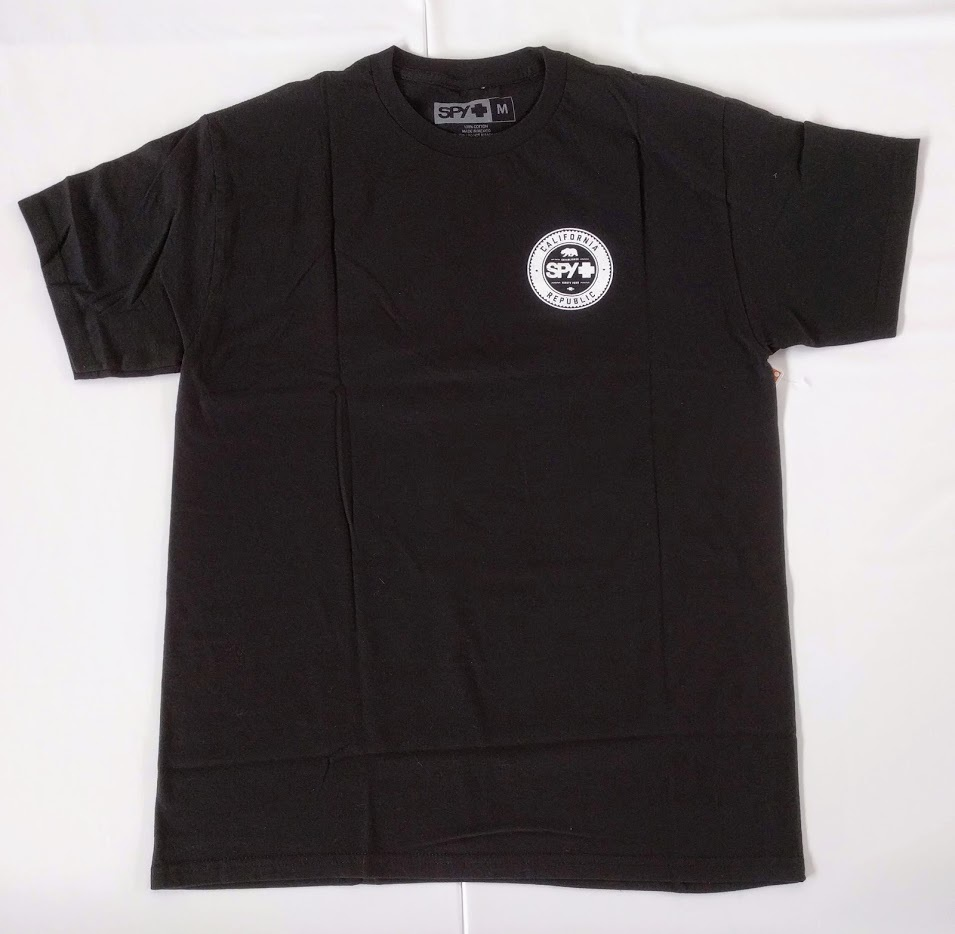 SPY CA BEER TEE スパイ Tシャツ 半そで メンズ ベアー 熊 くま バックプリント ゴーグル サングラス