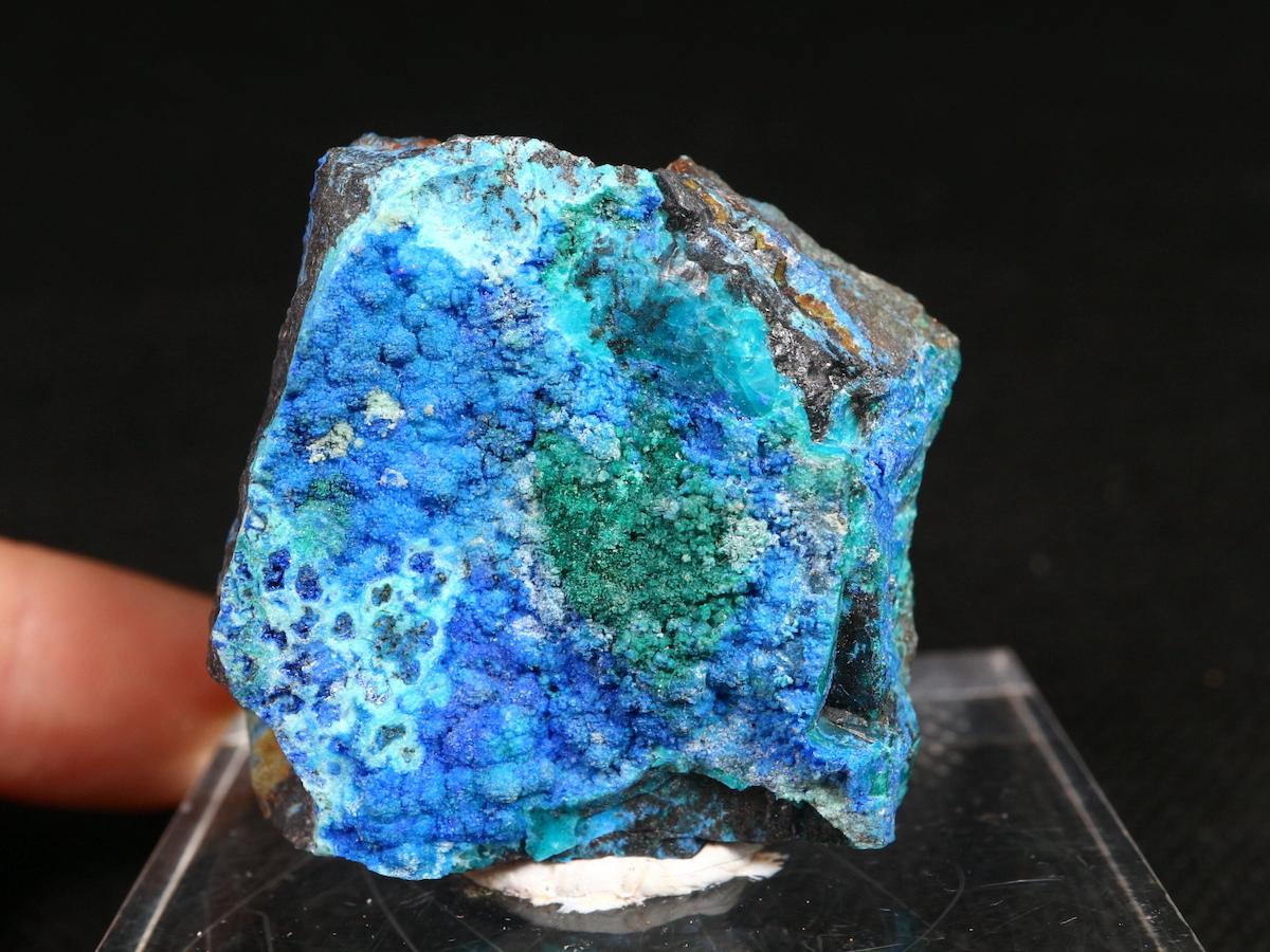 リナライト & カレドナイト & マラカイト 青鉛鉱 カレドニア石 29,3g LN013 鉱物 原石 天然石 パワーストーン
