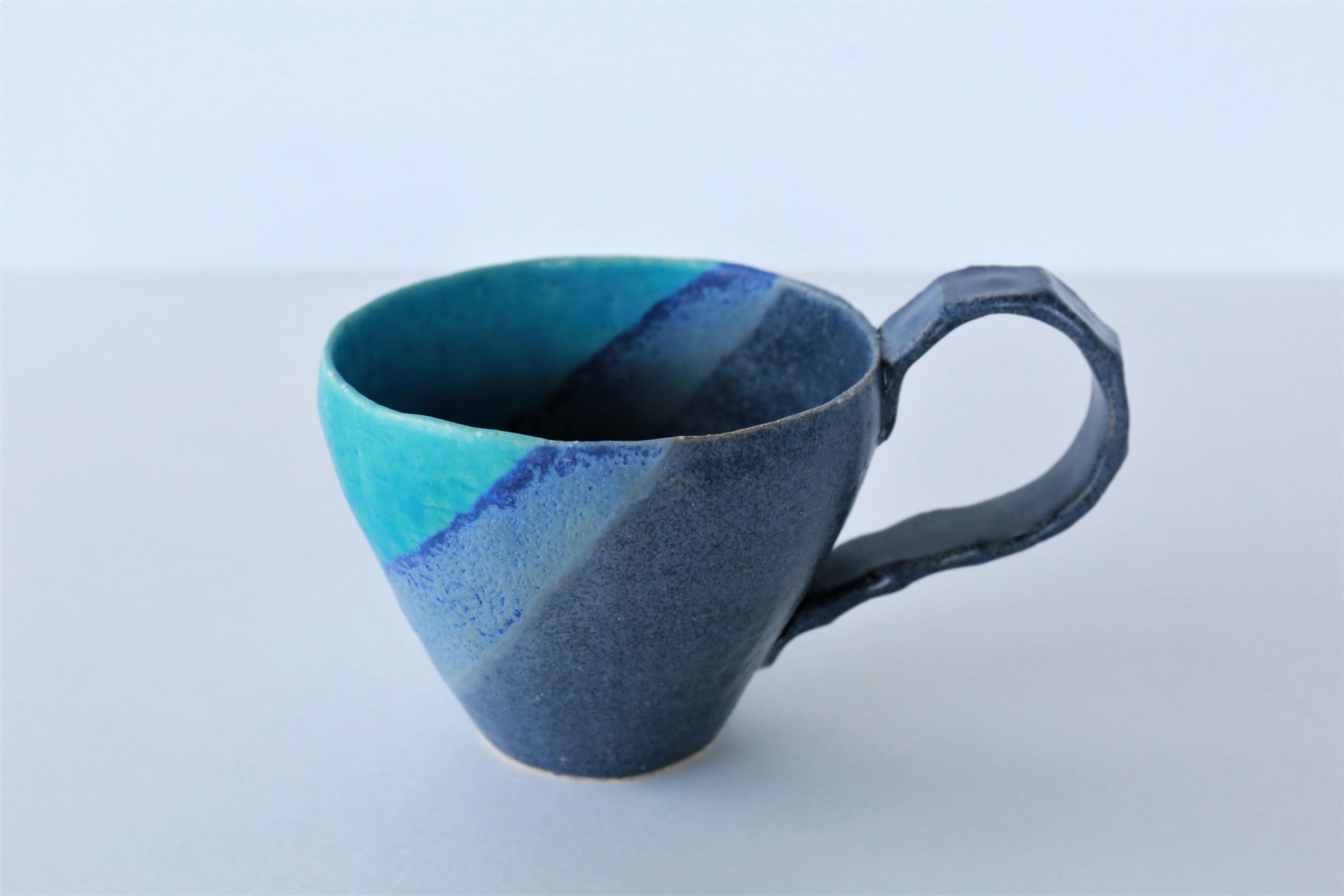 wakako ceramics/坂本和歌子 うみいろマグカップ