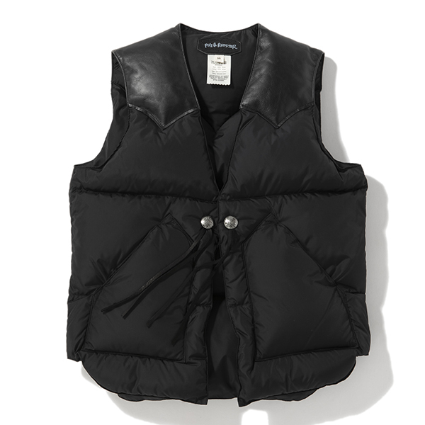 PIG&ROOSTER DA DOWN VEST BY ROCKY MOUNTAIN
