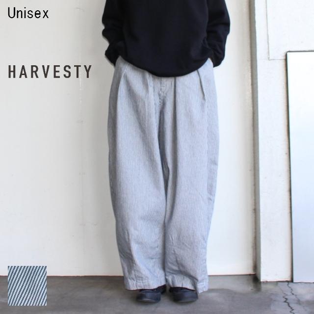 HARVESTY ヒッコリーサーカスパンツ CIRCUS PANTS A11802 (O.WASH)