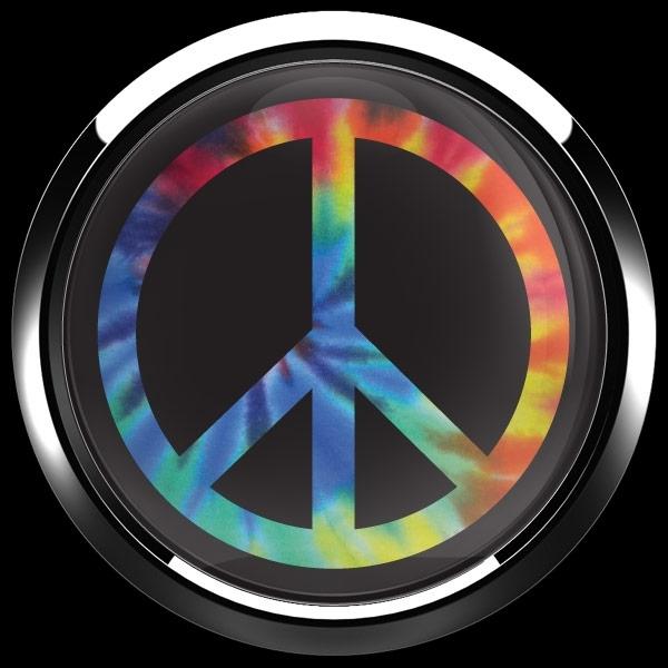 ゴーバッジ(ドーム)(CD1079 - PEACE TIE DYE) - 画像3