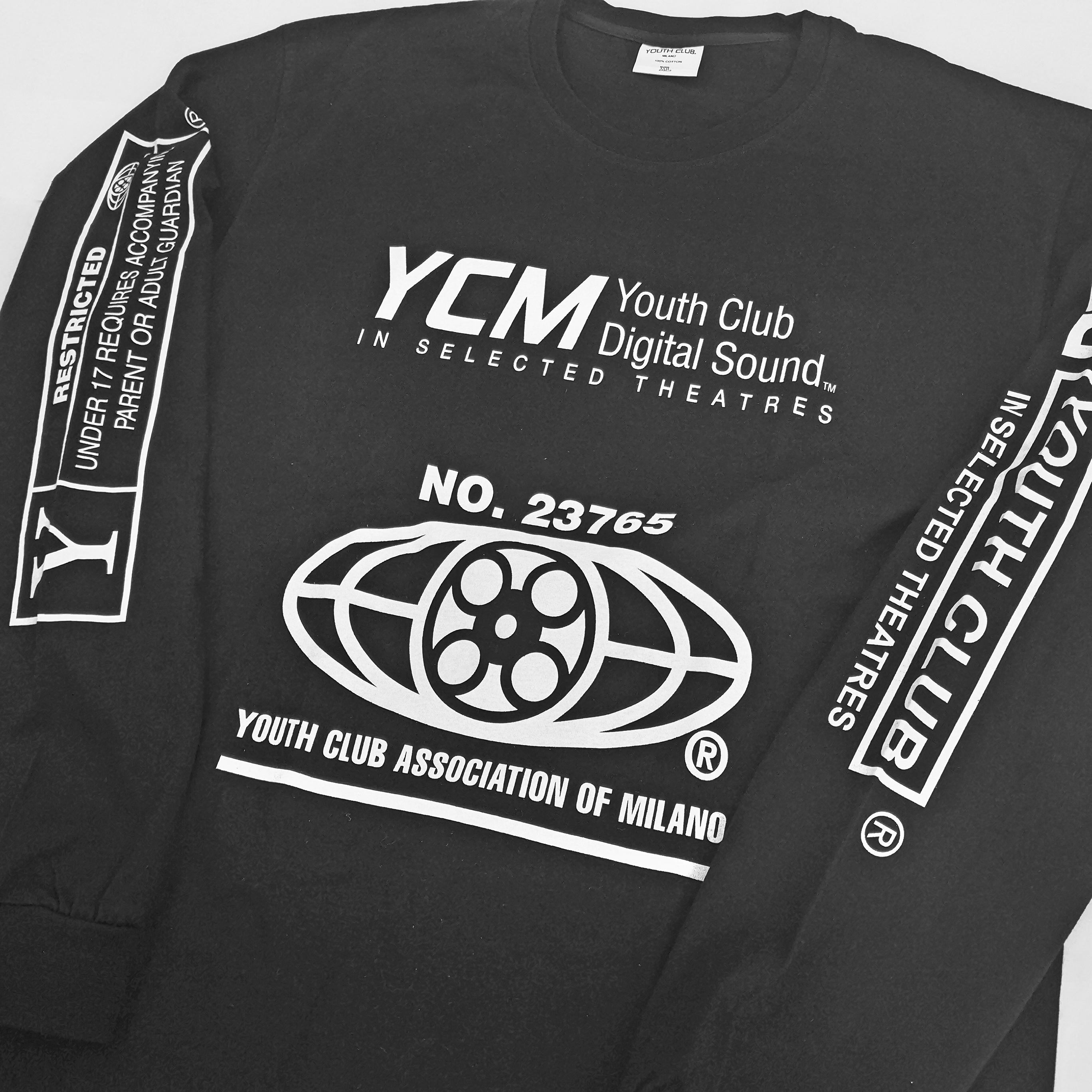 YOUTH CLUB MILANO LONG TEE XL