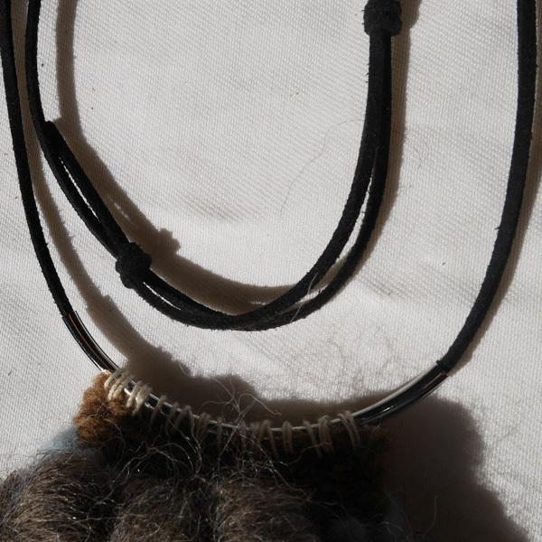≪オリジナル≫手織りネックレス【空と大地】
