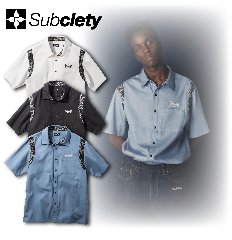 【送料無料】Subciety(サブサエティ) | WORK SHIRT-Primal-