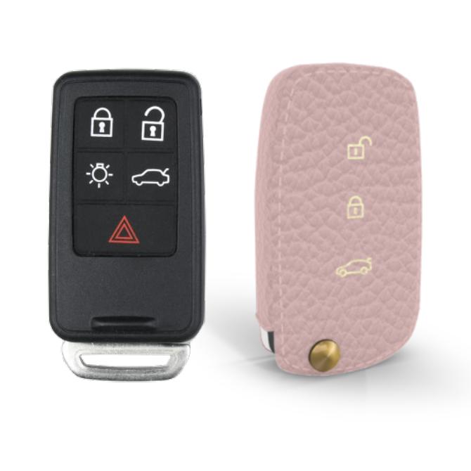 Volvo 専用 Type40 Car Key Case Shrink Leather Case