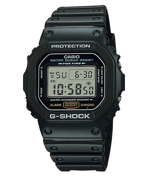 CASIO  カシオ G-SHOCK DW-5600E-1   スピードモデル メンズ 腕時計