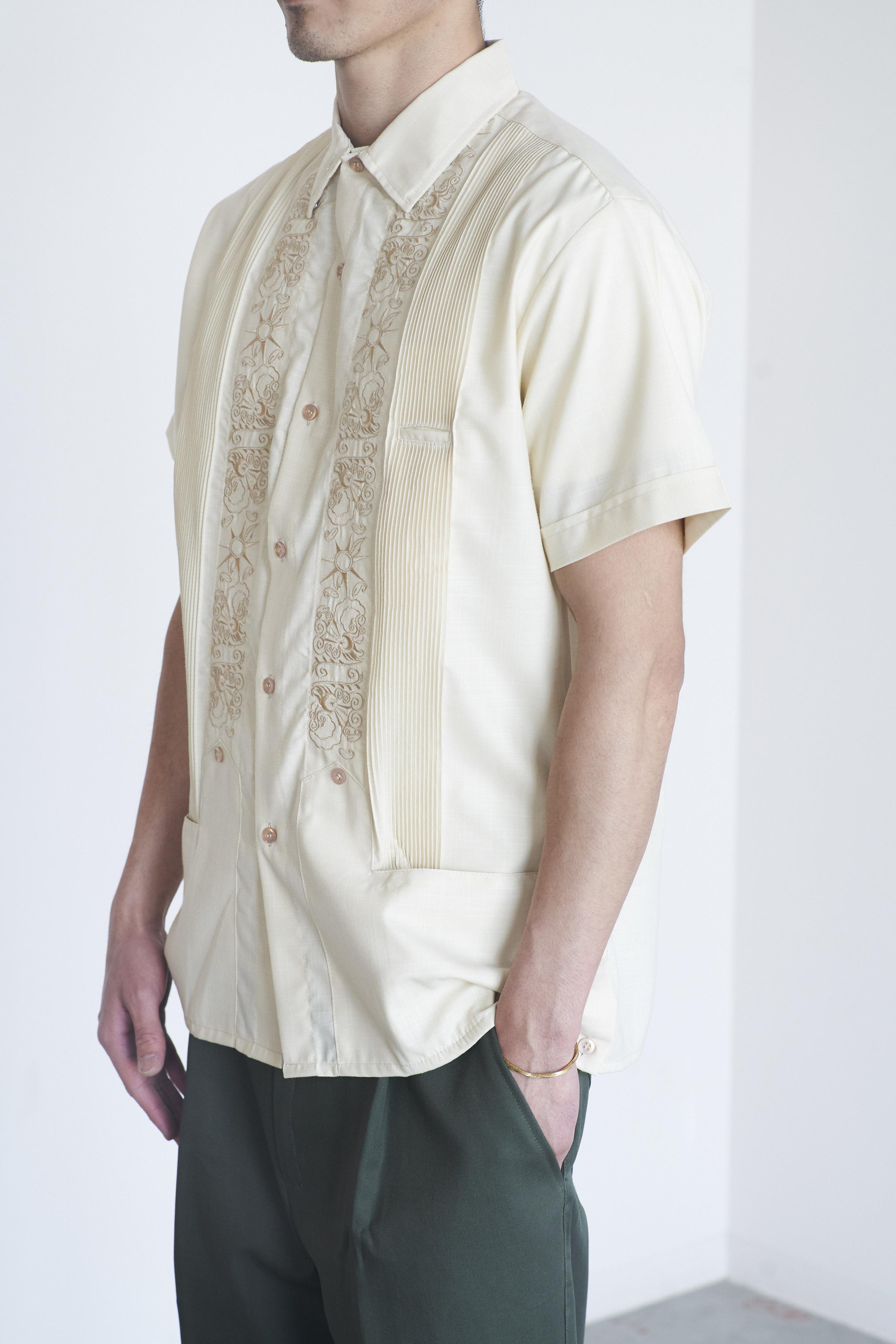 BARNSTORMER Y.A.BERA short sleeve キューバシャツ