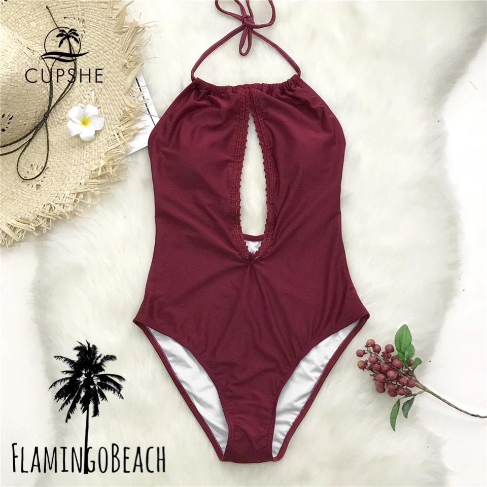 【FlamingoBeach】front cut monokini モノキニ