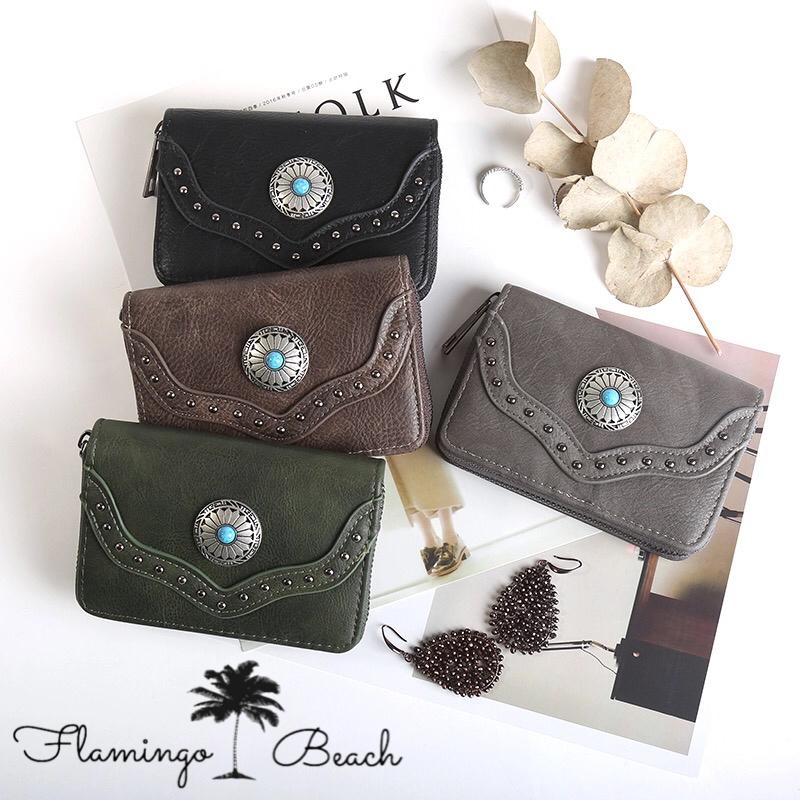 【FlamingoBeach】boho wallet