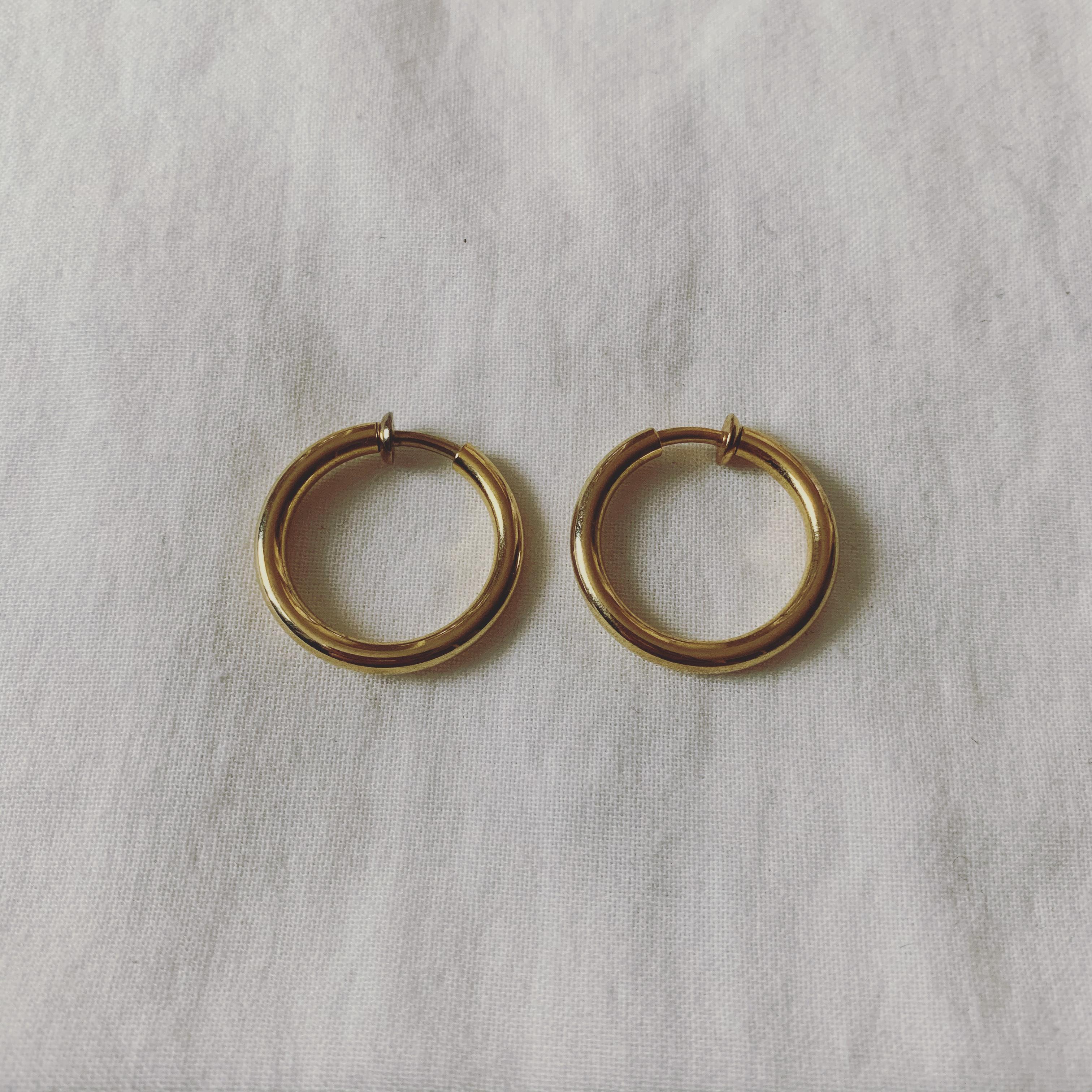 vintage hoop earring