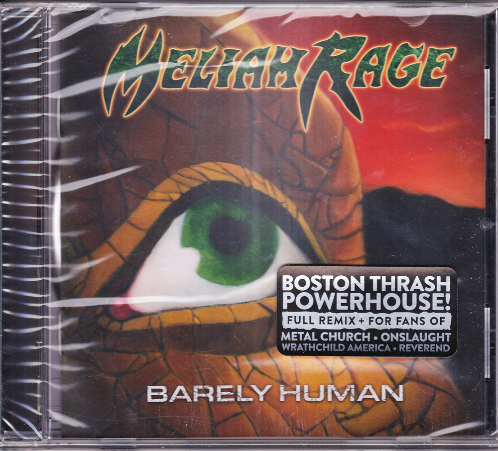 MELIAH RAGE 『Barely Human (Re-Issue)』