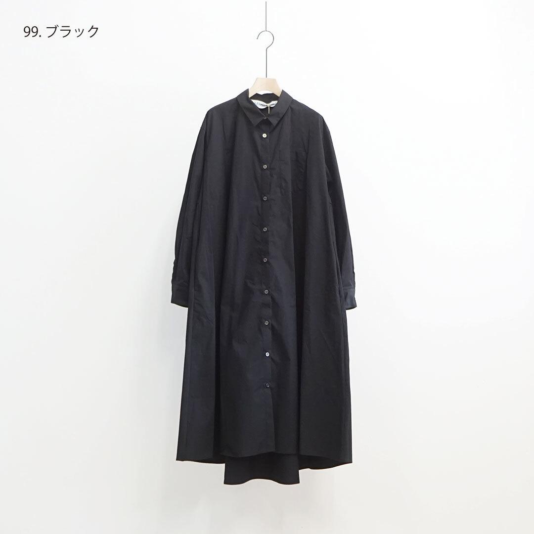 MidiUmi ミディウミ A line shirt OP Aラインシャツワンピース (品番3-758183)