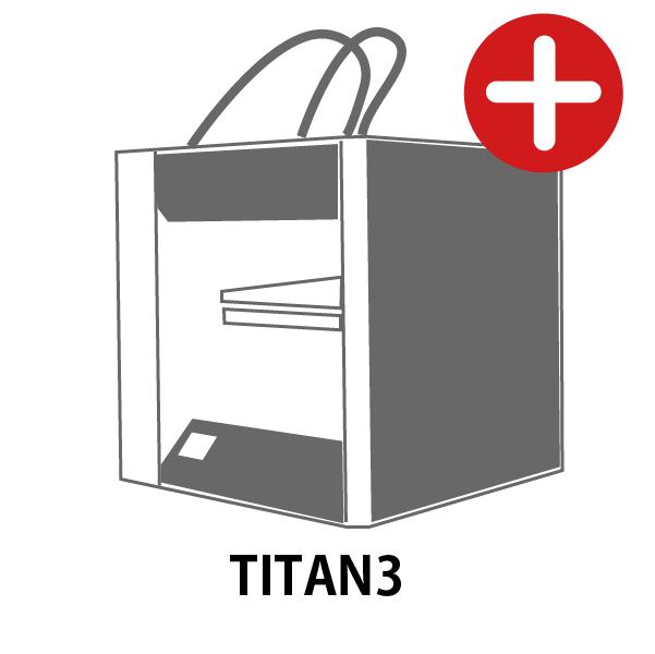TITAN3 3Dプリンター メンテナンスサービス - 画像1