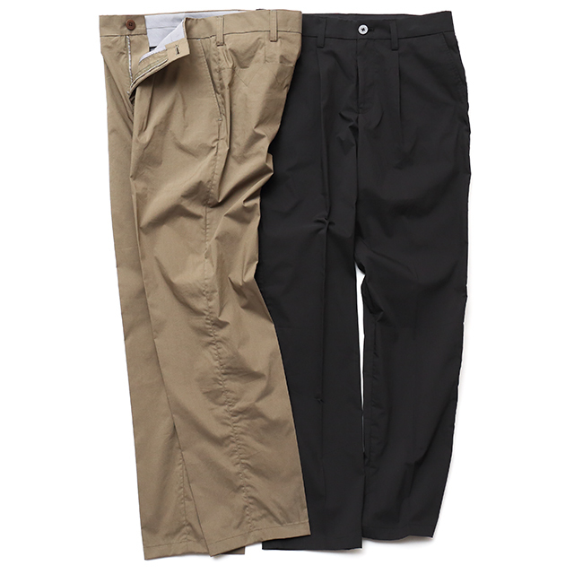 Bout Pattern Tuck Pants