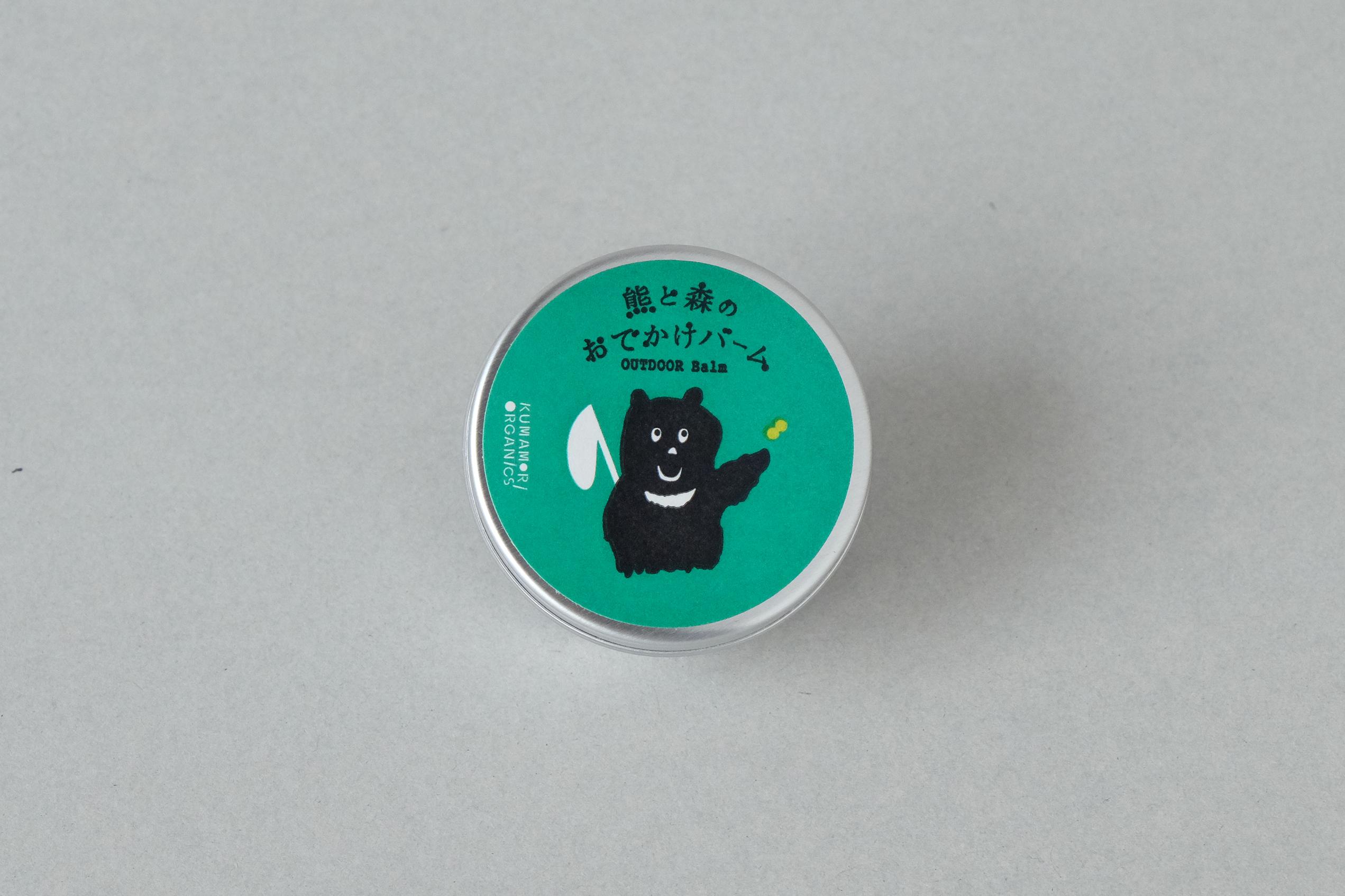熊と森のおでかけ バーム   < 保湿 > 15g