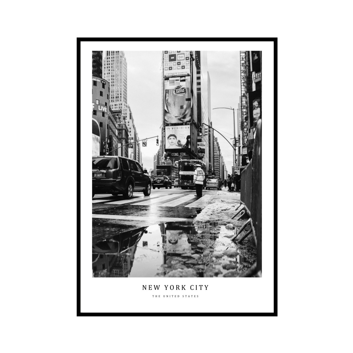 """NEW YORK CITY"" US - POSTER [SD-000592] A4サイズ ポスター単品"