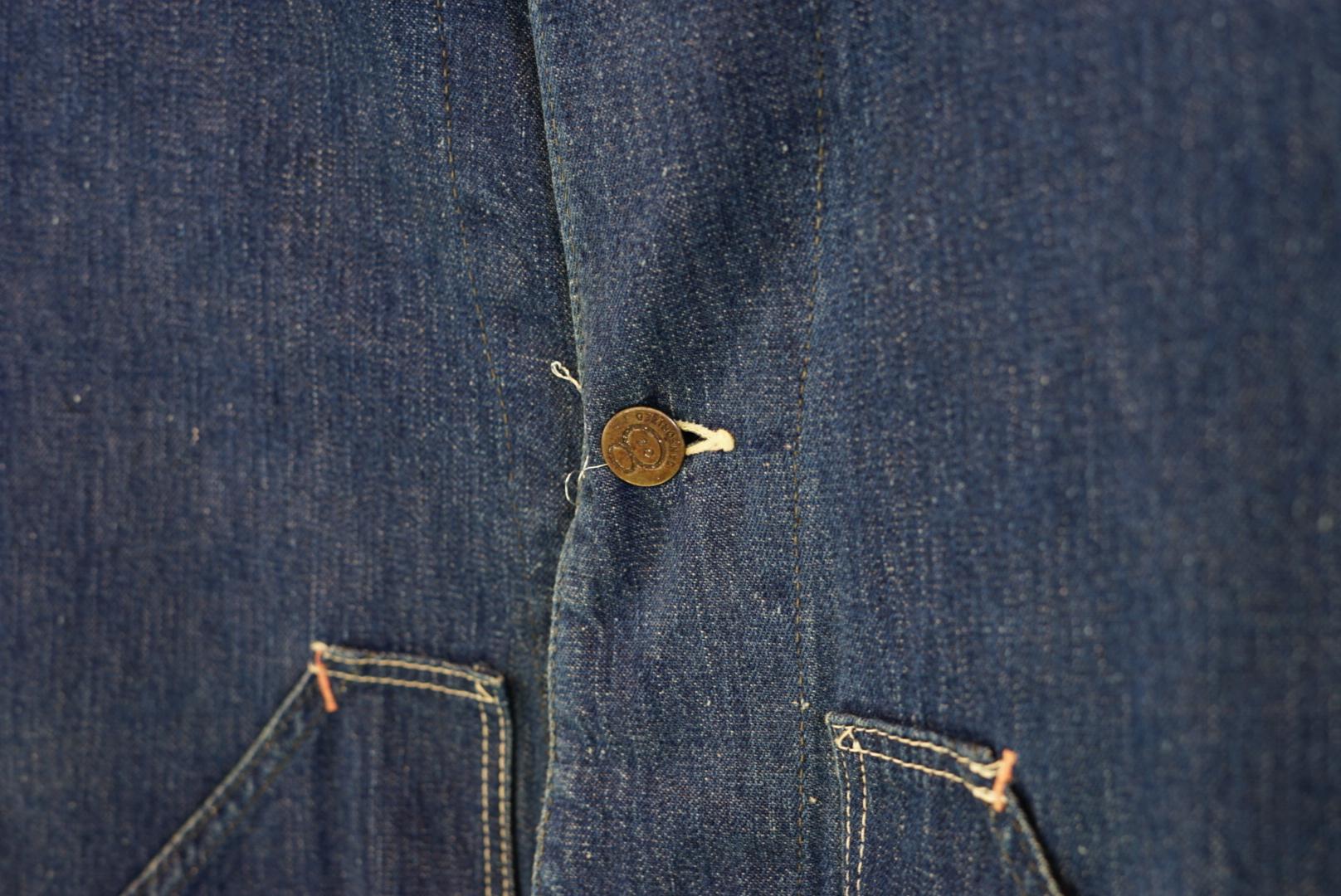 1950's 8オンス ショートカバーオール デニムジャケット