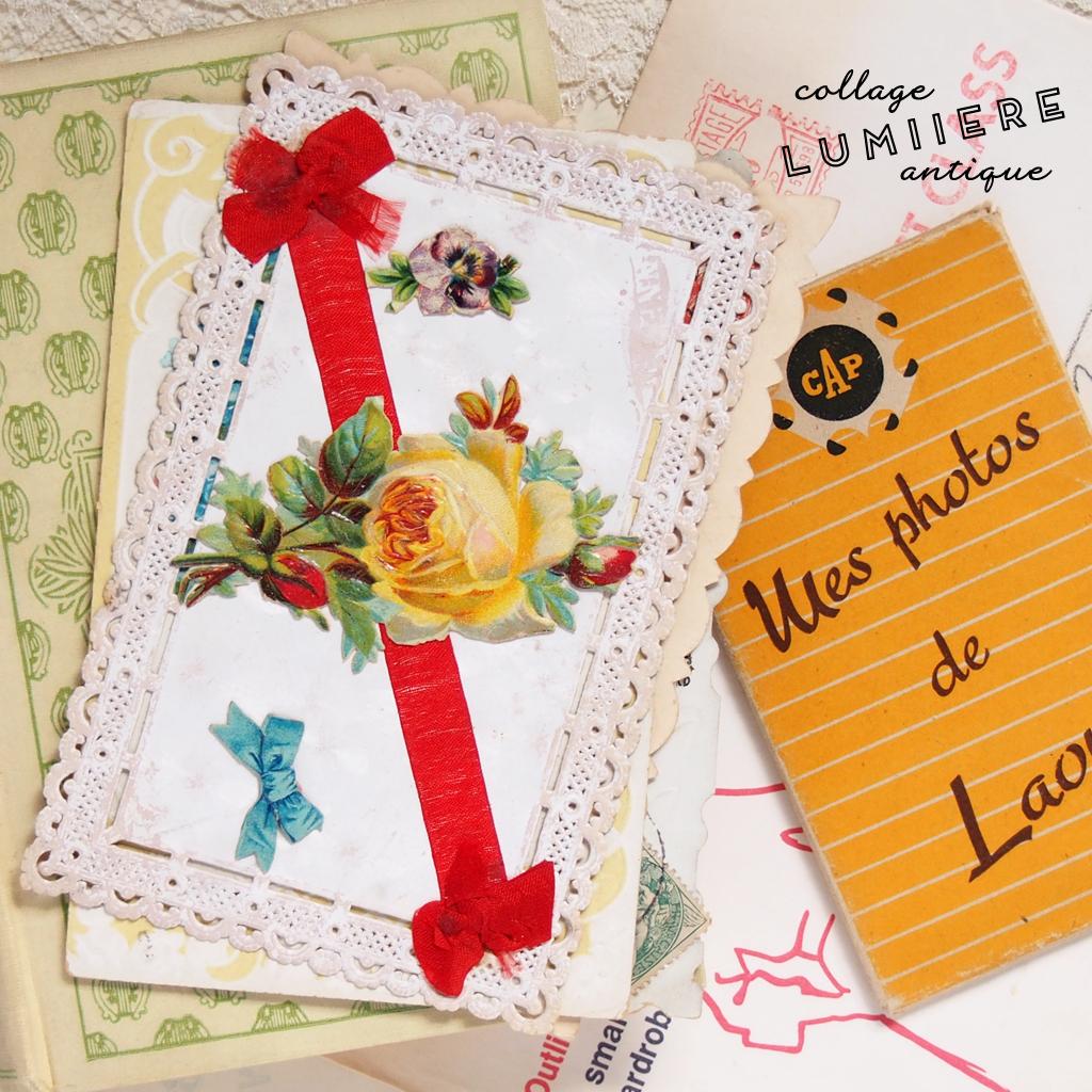 ribbon postcard