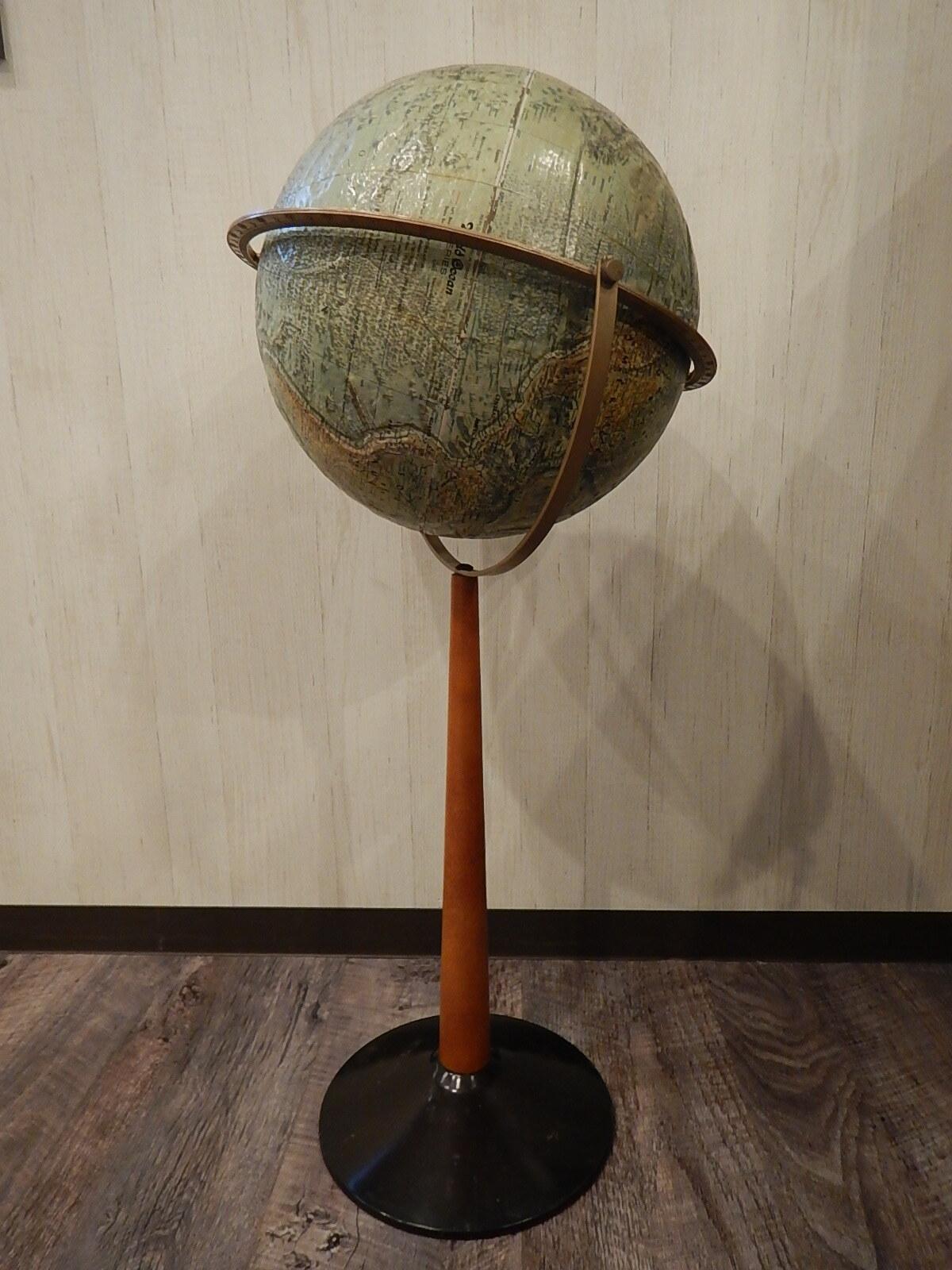 品番1706 ヴィンテージ地球儀 60年代 スタンド式 011