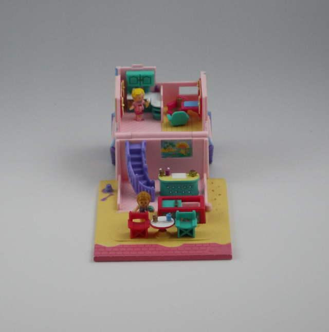 ビーチカフェ レアなパープルバージョン 1993年 ポーリータウンシリーズ 完品